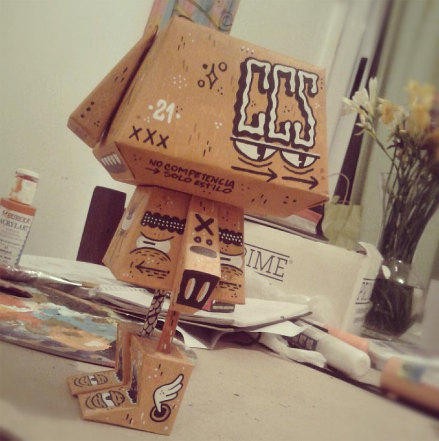 toy paper toy